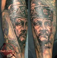 Centurion Tattoo by dottcrudele