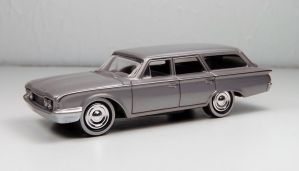 Johnny Lightning 1960 Ford County Squire Wagon by Firehawk73-2012