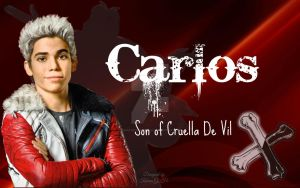 Disney Descendants - Carlos, son of Cruella De Vil by KariaHearts56789