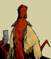 hellboy by KingJelly