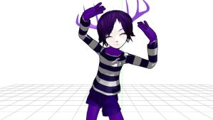 MMD + HTF Anthro Mime Dl by Nanashione