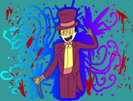 I'm the Warden of Superjail by Mr-Pod