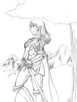 DragonFable: Ehren's Story by fatal-rob0t