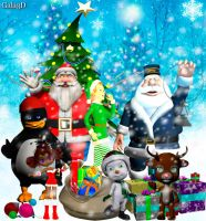 Clipart 3D ChristmaS by Gala3d
