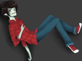 marshall lee by SullyThePenguin