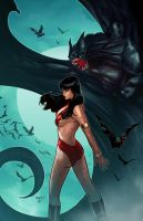 Vampirella 5 cover by PaulRenaud