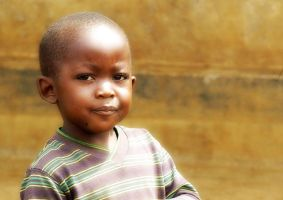 Child in Africa... by Ikabe