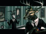Deer-head hates Rubix cube by Du1l