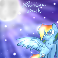 Just A Quick Rainbow Dash Picture :3 by DoctorWhoovesAnswers