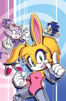 Bunnie Uekawa Style (Sonic Universe 96 Cover) by herms85