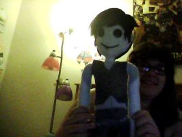 Once ler plushie by bigtimetransfan27