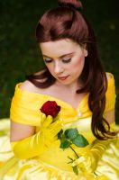 [Photography] Beauty and the Beast - Belle by seeingviolets