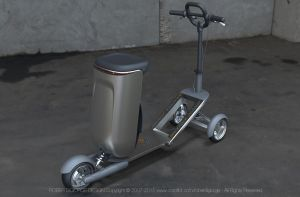 Backpack Electric Scooter by Roberdigiorge
