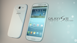 Samsung Galaxy S III - Cinema 4D by BrunoMM