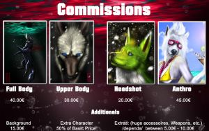 Commission List 2013 by Ayane-Sabakuno