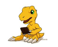 Agumon by Gravavva