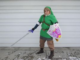 Skyward Sword Link Cosplay by sugarpoultry