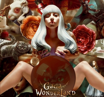 #ArtPop By DANIMONSTER Gaga in Wonderland by DaniMonsterEditions