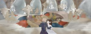 Labyrinth Ballroom Scene by Fahji