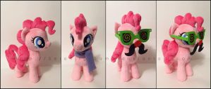 Plushie: Pinkie Pie and accessories - MLP:FiM by Serenity-Sama