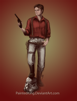 Speed Paint06: Captain Malcolm Reynolds by PaintedKing