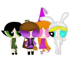 PPG Halloween by XxStrawberryQueenxX
