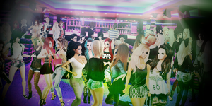 Up In The Club. by poisoninyourdrink