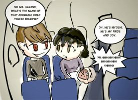 Raito's airplane ride by danzr4ever