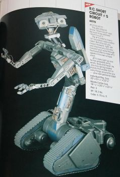 Proposed Johnny 5 toy from Matchbox by ChipmunkRaccoonOz