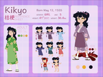KIKYO Character Reference and Biography by NattiKay