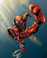 Fooray Scarlet Spider Color by Edjnr