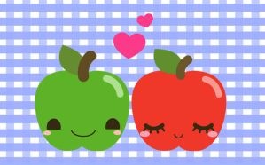 Apple Love by Yume-fran