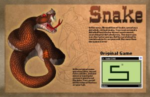 Snake Game Remake by MichelleLouiseS