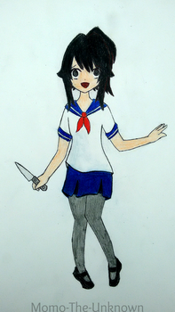 Yandere-Chan by Momo-The-Unknown