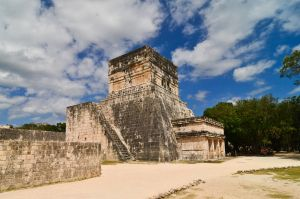 Chichen Itza - Ball game 1 by LLukeBE