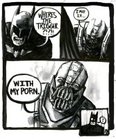 What if Bane had a sense of humor......? by RADMANRB
