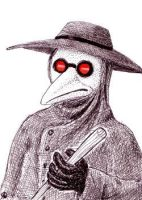Plague Doctor by ankewehner