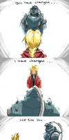 Elric Brothers - Still Alive (song illustration) by FlorideCuts