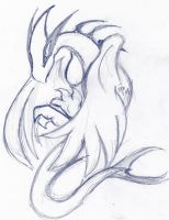 Lugia Sketch by raizy
