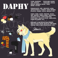 Daphy winter ref by crispyspringrolls