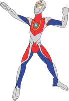 Ultraman Dyna by Daizua123
