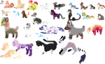 Little Pixels || Added More by AusieOtterPie