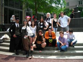 Anime Boston Group photo by UnknownAndInsane29