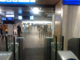 Amsterdam central almost empty O_o by vlower
