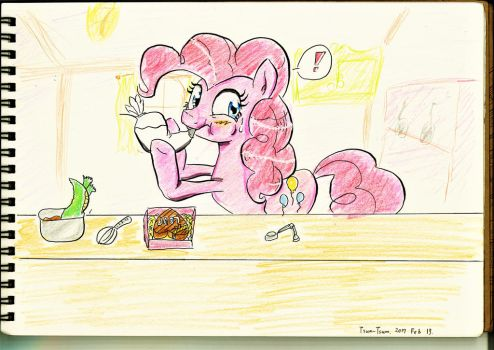 Pinkie Pie at the Hearts and hooves day by Tsum-Tsum0221