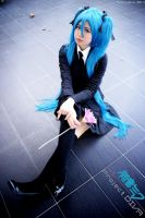 Project DIVA 2nd: Saihate by farizasuka