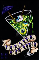 Monster Martini by Vicki-Death
