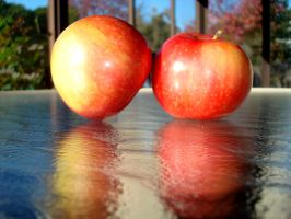 Apple Reflection by MischiefLily