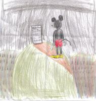 Mickey has lost his voice by Clubtail