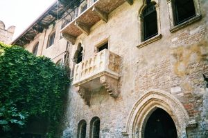 the famous balcony of juliet by Lady-Panthera